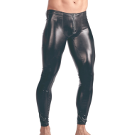 Sexy lingerie sexy men's patent leather tights performance pants