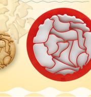 DIY Zoo Puzzle Cartoon Cookie Mold Spanish Bird Cookie Set