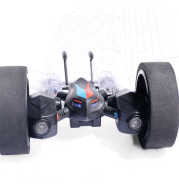 Land and air dual-speed vehicle remote control quadcopter detachable 3D flip headless model aircraft model