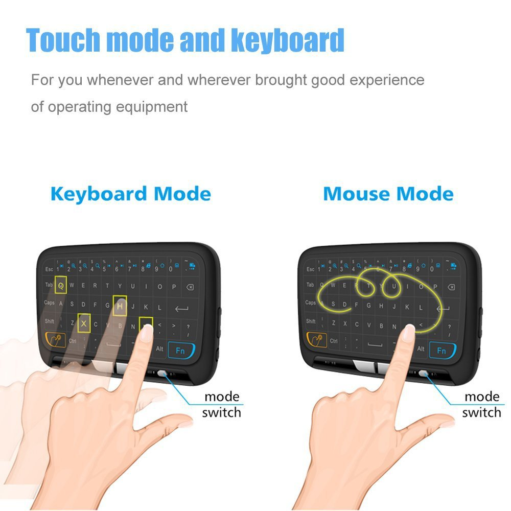 2.4GHz Air/Fly Mouse Remote Control Game Touchpad For Android TV Box