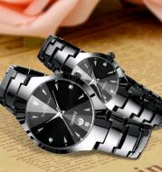 Intels steel belt ultra-thin student couple casual watch male quartz watch ladies watch business watch female luminous watch