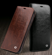 Applicable to iphone78plus mobile phone shell leather iPhoneXr/Xs Max protective cover business leather case