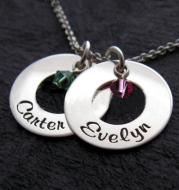 Stainless Necklace Custom Words