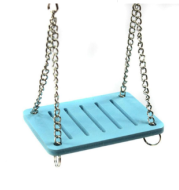 Cute Parrot Hamster Small Swing