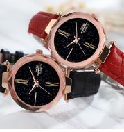Net red star fashion trend waterproof quartz watch