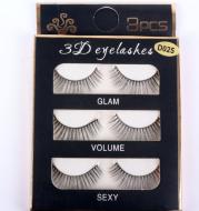3D false eyelashes Natural thick eyelashes