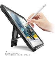 Pencil For iPad Pro 12.9 Case (2020) SUPCASE UB PRO Full-body Cover with Built-in Screen Protector & Kickstand