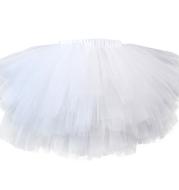 Halloween costume girls 6 layer tutu fluffy tulle little princess dance petticoat TUTU multi-layer skirt
