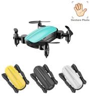 Teeggi T10 Mini Drone with Camera HD Foldable WiFi FPV RC Quadcopter Headless Mode Altitude Hold VS S9 Micro Pocket Selfie Dron (China)