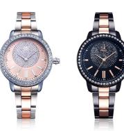 Shengke Rose Gold Watch