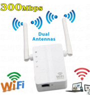 Manufacturers direct 300M WIFI signal amplifier, wireless router repeater small steamed bread Repeater