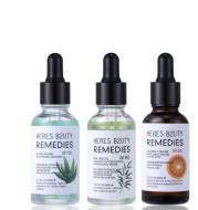 Aloe Vera Moisturizing Oil Control Acne Soothing Skin Facial Serum Cosmetics
