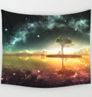 Galactic Vibes Tapestry