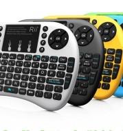 Rii mini i8+ wireless mini backlight soft keyboard mouse and keyboard one