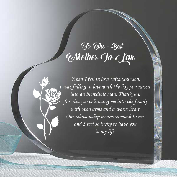 To The Best Mother In Law Heart Keepsake Familyloves.com