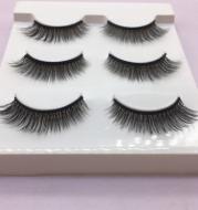 Multi-layer three-dimensional false eyelashes