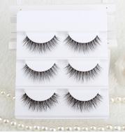 3D stereo handmade false eyelashes