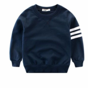 Boy's long sleeve round neck pullover