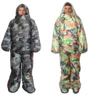 Human sleeping bag humanoid sleeping bag can walk mummy sleeping bag wild warm sleeping bag hospital accompanying sleeping bag to keep warm