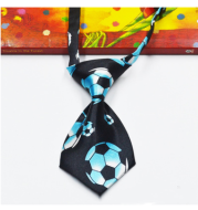 Bow tie tie cartoon print tie