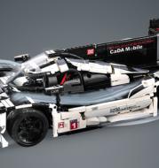 Double Hawk Clack C61016 Children''s Puzzle Assembly Toy 919 Endurance Racing Model Building Block Car Boy