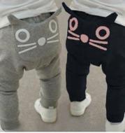 Spring and Autumn Boys and Girls Baby Cartoon Harem Pants