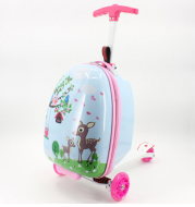 Children's trolley bag scooter trolley case suitcase luggage suitcase bag student trolley luggage box