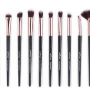 12 eye shadow brush nose shadow high light repair capacity shadow eyebrow brush portable novice makeup brush set
