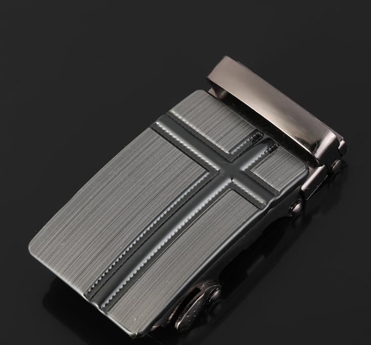 1130158062273 Men's belt laser automatic buckle trend fashion hundred matching youth belt