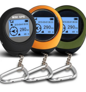 MINI GPS multi-function locator road search treasure outdoor climbing GPS tracker mini handheld GPS positioning