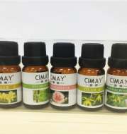 Safe water soluble humidifier essential oil 5*10ml humidifier purifier essential oil combination assembly