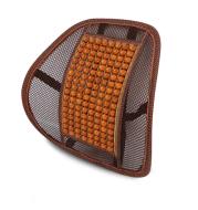 Car home dual-use breathable lumbar wooden beads lumbar car lumbar pillow olive wood summer car interior factory direct 04