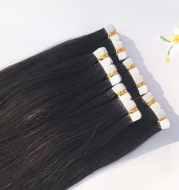Natural color hair wig reality seamless hair extensions hair stealth seamless wig factory direct sales