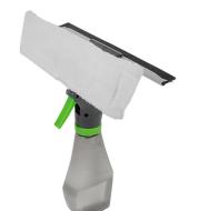 3 en 1 multipropósito de mano cepillo de limpieza de coche con botella de Spray botella de ventana para hogar para cocina limpiador de la ventana