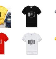 Stay Humble Hustle Hard Cotton T-shirt