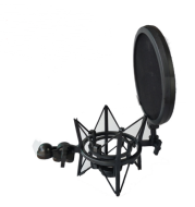 Recording Capacitance Plastic Bracket Plastic Blowout-proof Cover Net Matching Large Shock-proof Frame for Recording Room