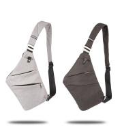 Stylish single shoulder bag Korean style casual nylon gun bag chest bag cross-body man chest bag