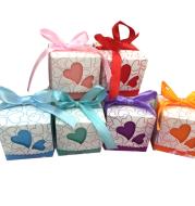 European caring hollow wedding candy box high-end candy box creative wedding box