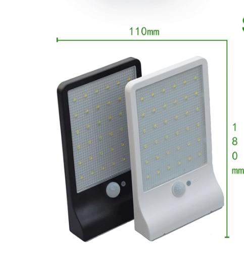 LED verlichting op zonne energie nodig bij de achterdeur? 36 LED included voor genoeg licht en natuurlijk ook te gebruiken bij de voordeur - deze lamp heeft redelijk wat zon nodig om te kunnen opladen dus let hier op