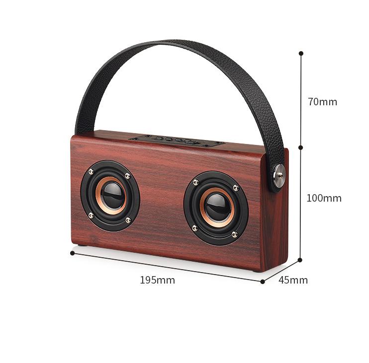 wood Bluetooth speaker style