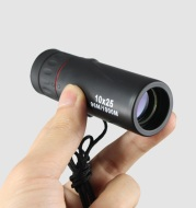 Ortable Monocular 10x25 High-definition Night Vision Pocket Mini Photo Single Pass-Through Glasses Outdoors