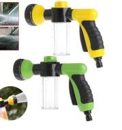 Foam spray gun, high pressure automotive foam spray gun, household cleaner generator