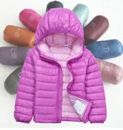 Children's lightweight down jacket