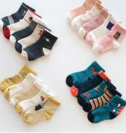 Girls cotton tube socks