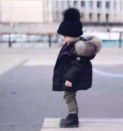 Children's thick cotton jacket