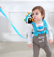 Anti-lost with baby straps anti-going kids bag anti-lost rope plush toys