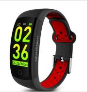 Q6S smart color screen bracelet blood pressure heart rate monitoring step sports watch