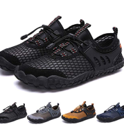 Mountaineering casual shoes couple models large size outdoor wading shoes quick-drying elastic band