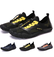 New five-finger shoes outdoor wading beach shoes non-slip soft bottom hiking shoes upstream shoes breathable casual shoes fishing shoes