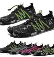 Beautiful wading shoes men's shoes outdoor river shoes ladies non-slip diving shoes